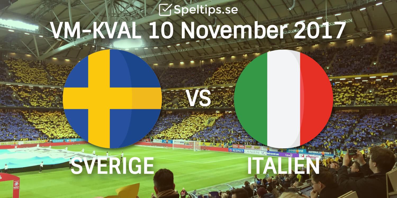 SPELTIPS 10 11 inför Sverige-Italien  ALLT du behöver veta + ett sylvasst  kortspel! 80bf632a0d2bb