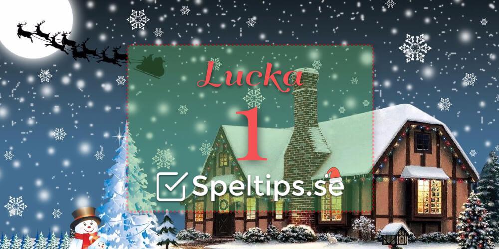 Julkalender betting speltips.se lucka 1