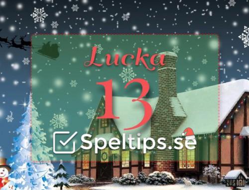 Julkalender 13/12: Riskfria spel, gratisspel och mycket mer!