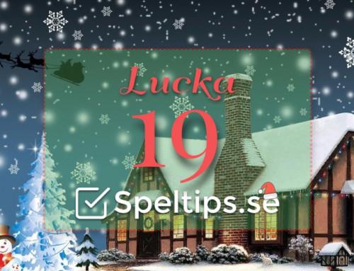 Julkalender 19/12: Mängder av riskfria spel!