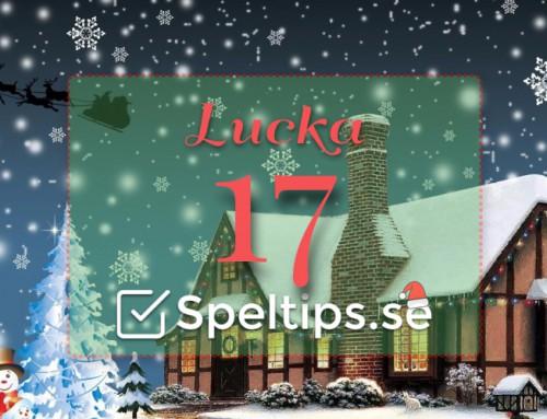 Julkalender 17/12: Hela fem riskfria spel!