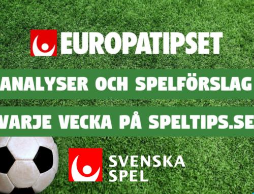 Europatipsförslag 6/12: Komplett analys!