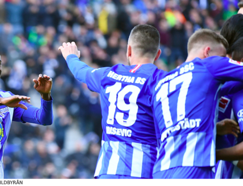 SPELTIPS 28/2 inför Fortuna Dusseldorf – Hertha Berlin: Ny anfallsduo!