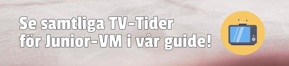 TV-tider för JVM 2022