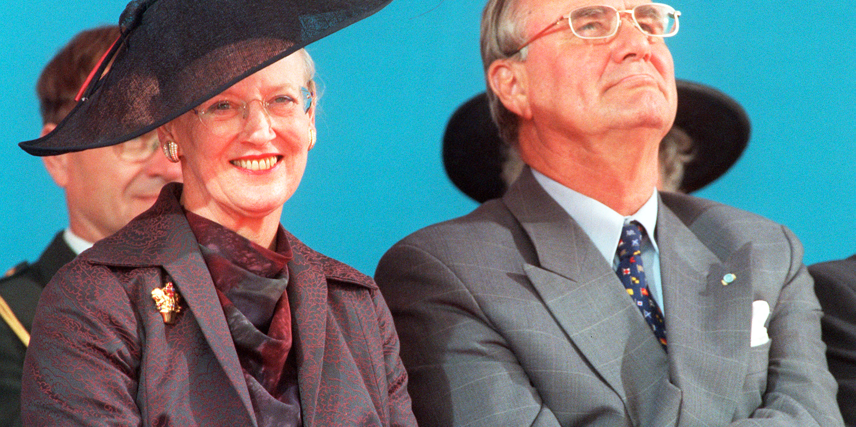 Danmarks drottning Margrethe