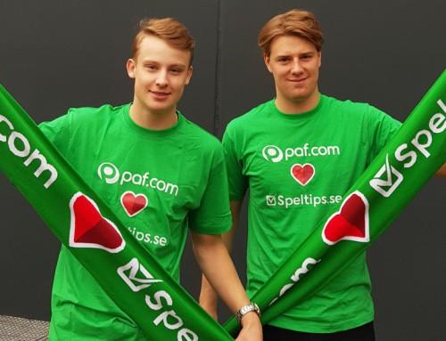 Filip & Jakob vann en magisk fotbollsupplevelse med PAF!