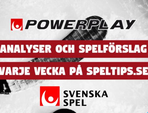 Powerplayförslag 22/2: Fokus riktas mot SHL!