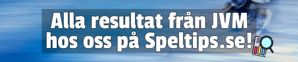 Alla resultat från JVM hos Speltips.se
