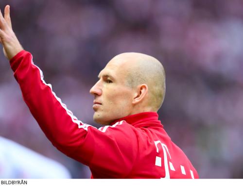 Avslutade karriären – nu gör Robben comeback!