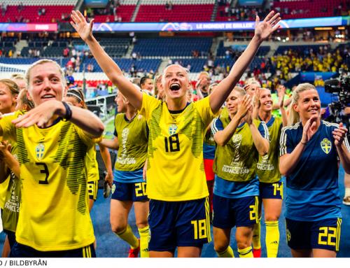 Sverige vidare till VM-semifinal efter fantastiska insatsen!