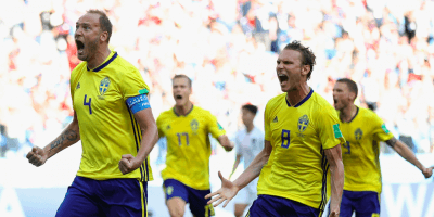 Sverige åttondelsfinal