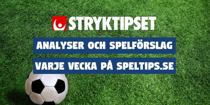 Stryktipset stryktipsförslag Speltips.se