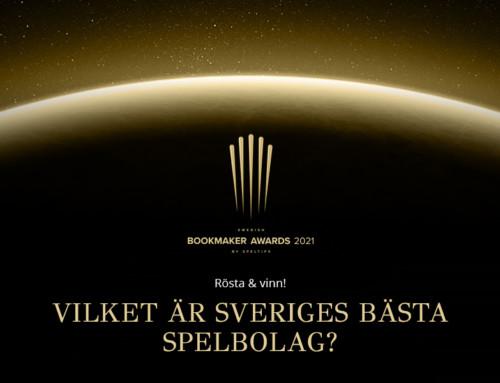 Rösta på Sveriges bästa spelbolag och vinn 500 kr!
