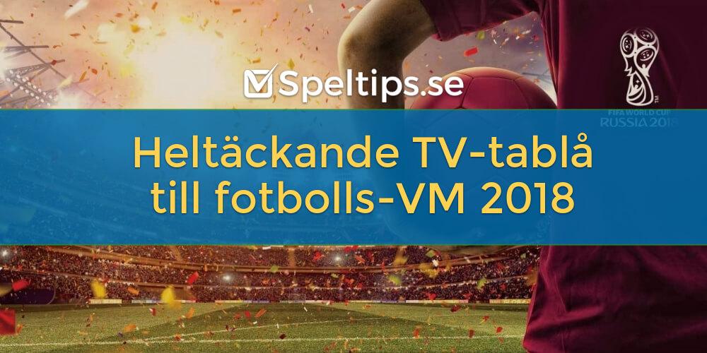 Fotboll lagen i tv 15