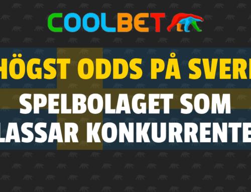 Spelbolaget som ger högst odds på Sverige mot Spanien!