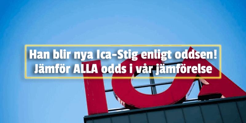 Odds Ica-Stig - Jämförelse av betting odds på nya Ica-Stig