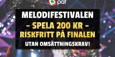 Melodifestivalen riskfritt spel