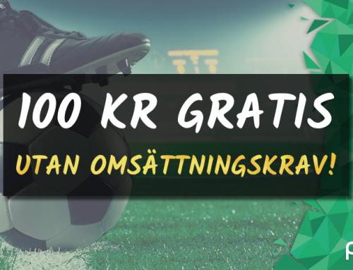 Riskfritt 15/10: 500 kr på Sverige-Spanien – utan omsättning!