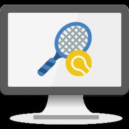 Speltips tennis logo