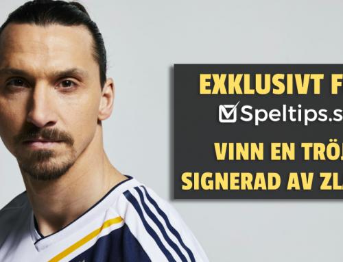 EXKLUSIV TÄVLING 10/3: Vinn Zlatans signerade tröja + en resa för att träffa honom!